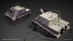 Sturmtiger - shaded wire by ogami3d