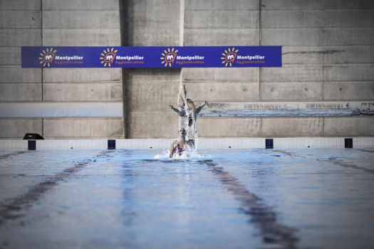 Gala Natation Synchronisee / Montpellier by Diabloracing