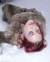 Fur and Snow I by fetishfaerie-stock
