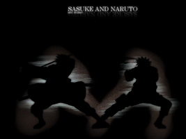 Naruto and Sasuke by Yanae