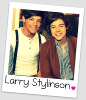 Larry Stylinson by Kayceeflutterby