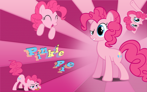 Pinkie Pie Wallpaper by 30ColoredOwl
