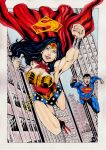 Wonder Woman And Superman by gregohq