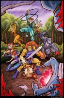 The Thundercats by 2Ajoe