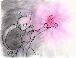 Mewtwo: Full Color by MilesofCrochet