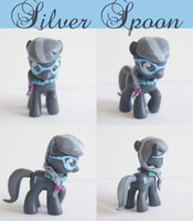 Silver Spoon Custom sculpt MLP by alltheApples
