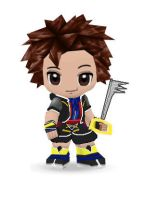 Kingdom Hearts Sora Buddypoke by Ben2DJammin