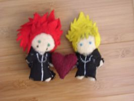 AkuRoku plush by Nyoccora2071