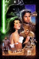 SPACEBALLS: THE PAINTING by Spaceboycomics