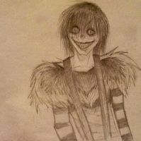 Laughing Jack sketch by Psychotic-Bro