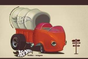 Volkswagen canvas truck by candyrod