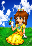 Mario: Daisy and the Bee by AkiraHoshi-chan