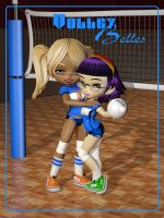 VolleyBelles - Teammates by Ptrope