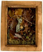 Framed Forest Pixies- 1 of 5 by dseveredhead