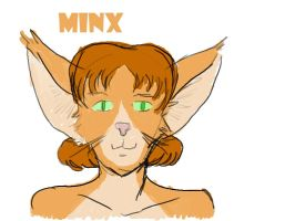 New Character Idea - Minx by Afrodisium