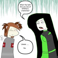 How could you think that Shego by peacebear