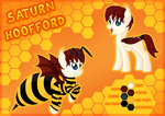Saturn Hoofford Reference by VectorVito
