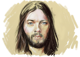 David Gilmour from Pink Floyd by NobodyLovedYou