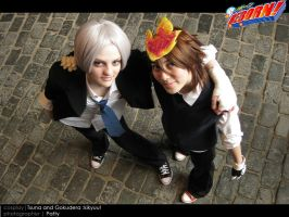 Tsuna and Gokudera 2 by kikyuu04