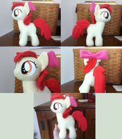Apple Bloom Plush by MintyStitch