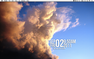 Cloudy Desktop by PaoloNormalState
