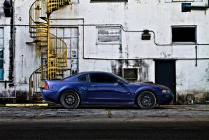 Blue Mustang GT by lovelife81