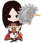 AMR Queen Alice Chibi by VishKeks