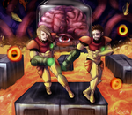 Low HP- Metroid Zero Mission by DovahLi