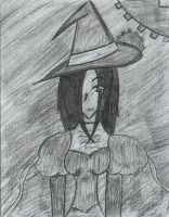 Elphaba in Charcoal by Miss-Whoa-Back-Off