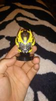 Bumblebee's head Topper and Keychain by OrochimaruXDD