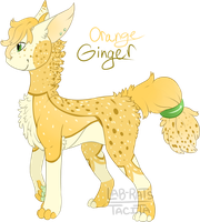 Orange Ginger Cerin Auction [OPEN] by lab-rats