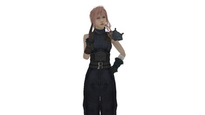 MMD Newcomer - Lightning (SOLDIER 1st Class DLC) by Xeno-Fan-Jay