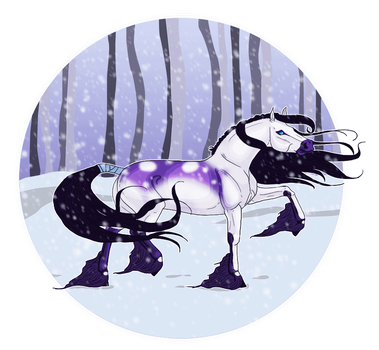 Lucy In The Snow by Astralseed