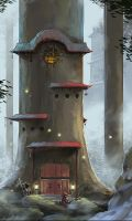samurai mouse house by zano