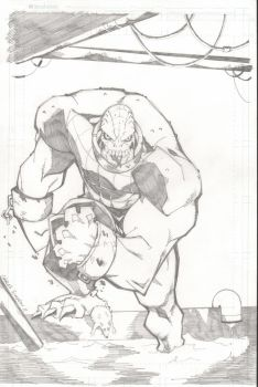 killer croc by charlessimpson