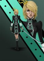 Cecilia - Oueen of Spades by Dottwing