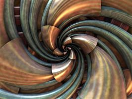 Copper Cone Curl by AureliusCat