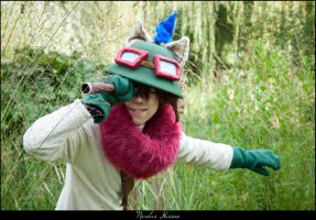 League Of Teemo - Never underestimate the power... by Bahamut-Dragoon