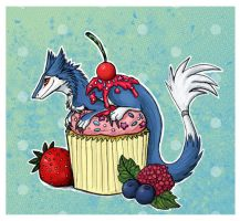 Berry Sergal Cupcake by Drunk-Kittens