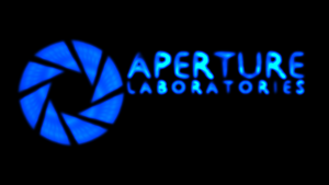 Aperture Science Blue by nhoj757