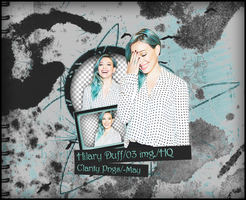 pack png Hilary Duff by iWillNotSurrender
