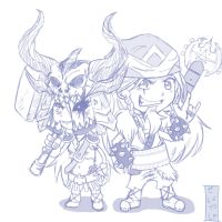 Chibi Viking Powa!!!! by SESHOYASHAJUNIOR