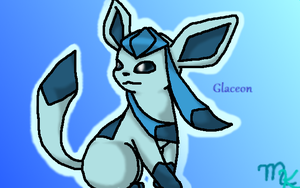 Glaceon by PresidentGasman