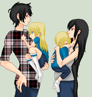Marcaline marshall lee finn and fionna by truelycute