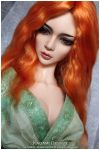 Bjd wig from angora mohair - LDoll festival by Kimirra-bjd