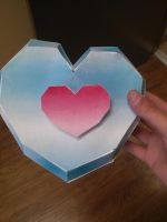 Heart Piece Papercraft by 8bitsofawesome