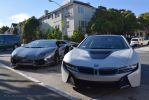 Lamborghini Aventador and BMW i8 by MCAlcarazPhotography