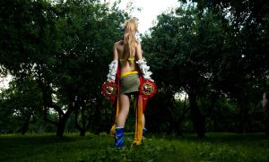 Final Fantassy X-2 - Rikku by GarnetTilAlexandros