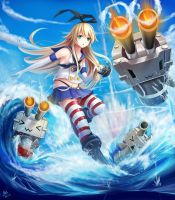 Fire !!!   | shimakaze by jurrig