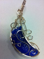 Blue claw collaboration by DPBJewelry